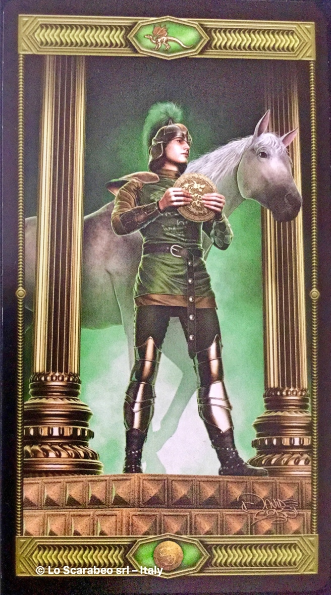 Tarot Draconis, Knight of Pentacles